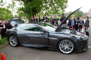 Aston Martin gives students a chance to pursue a career in Design and Technology