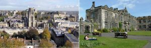 Comparison between the University of St Andrews and the University of Bristol: ranked between  the Top Universities of Europe