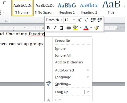 British vs American, 10 Microsoft Word Nightmares you will definitely experience as a science student