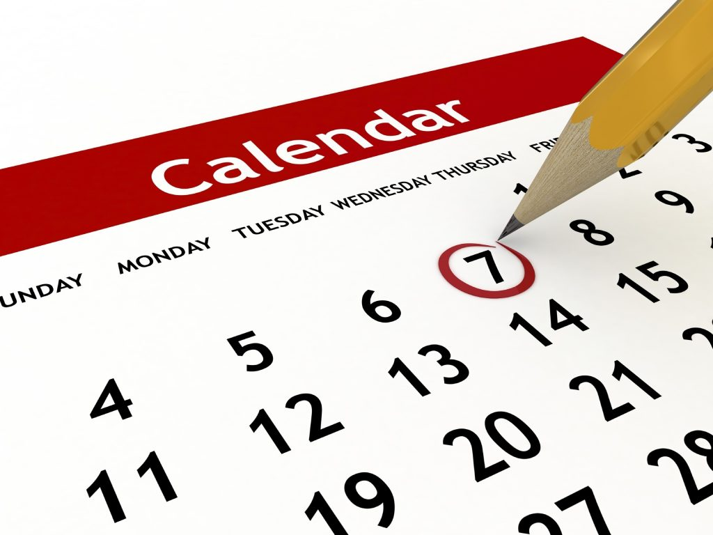 Calendar, 12 things that are worth memorizing