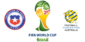 FIFA World Cup 2014: Chile beats Australia 3-1