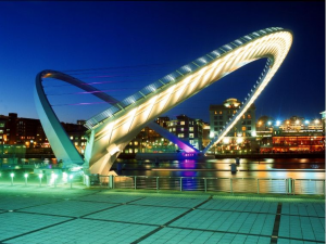 The Magnificent Rotating Bridge: Gateshead Millennium Bridge
