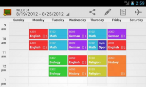 7 Apps to help you in scheduling your classes