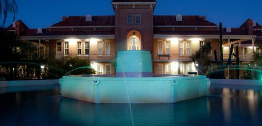 Old Main Fountain