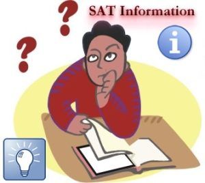 The SAT Test's sections: Mathematics, Writing and Critical Reading