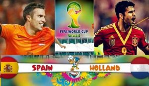 FIFA World Cup 2014: Netherlands vs Spain - All goals