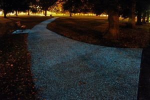 Street Lights will be Replaced by Glowing Roads