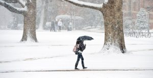 How is student life during the bad weather
