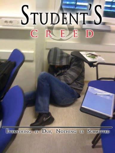 Students Creed, Top 10 Oops moments of Students from 2013