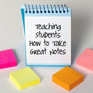 Tips To Take Notes Smartly During a Lecture