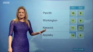 BBC's Weather presenter gets Wed on a Rainy day