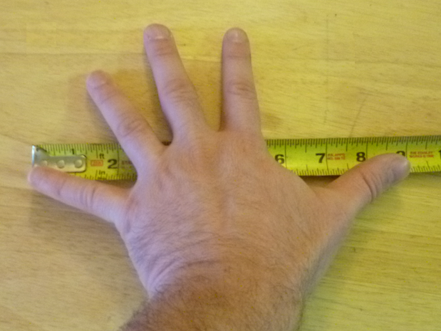 hand span, 12 things that are worth memorizing
