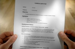 BUILDING UP YOUR CV