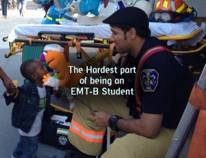 The Hardest part of being an EMT-B student