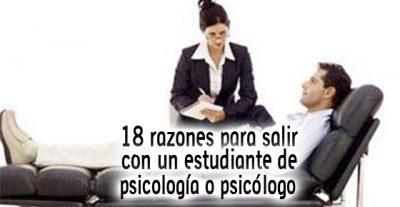 18 razones para salir con un@ estudiante de psicología o un psicólog@