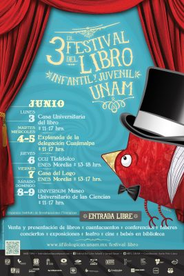 3er Festival del libro infantil y juvenil de la UNAM