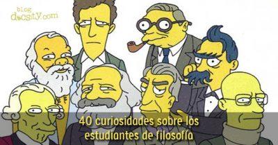 40 curiosidades sobre los estudiantes de filosofía