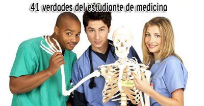 41 verdades del estudiante de medicina