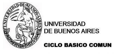 Admisión Universidad de Buenos Aires