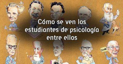 Cómo se ven los estudiantes de psicología entre ellos