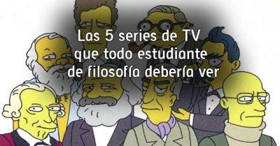 Las 5 series de TV que todo estudiante de filosofía debería ver