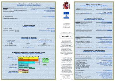 Suplemento Europeo al Título (SET). Solución para licenciados