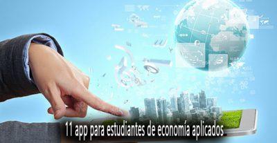 11 app para estudiantes de economía aplicados