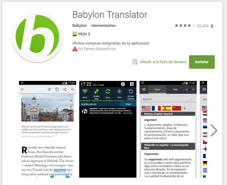 babylon - app para aprobar exámenes