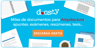Descarga gratis apuntes para Arquitectura - Docsity