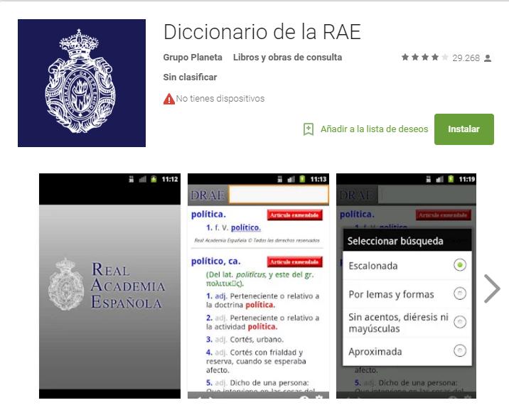 drae - app para aprobar exámenes