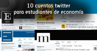 10 cuentas twitter para estudiantes de economía