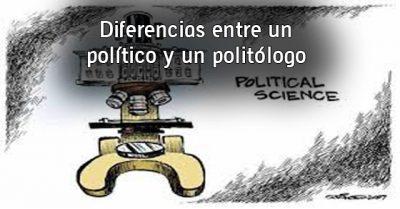 Diferencias entre un político y un politólogo