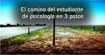 El camino del estudiante de psicología en 3 pasos