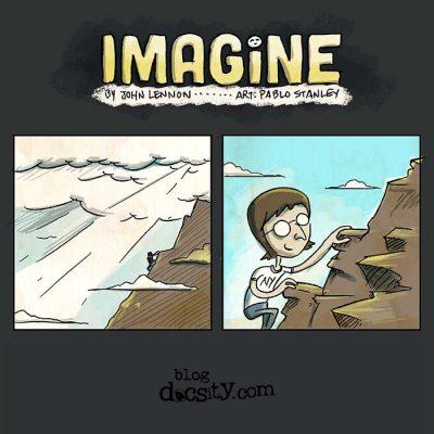 Imagine de John Lennon en imágenes