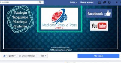 Medicina paso a paso una Fan Page para estudiantes