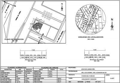 ejemplo de plano de ubicación