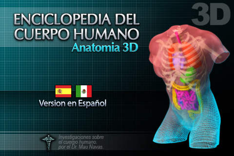 cuerpo humano 3d - apps