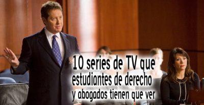 10 series de TV que estudiantes de derecho y abogados tienen que ver