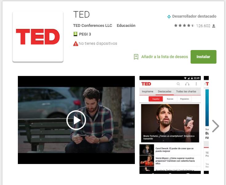 ted - app para aprobar exámenes