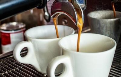 Coffee Machine Makes Two Coffee