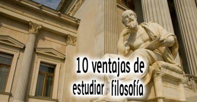 10 ventajas de estudiar filosofía