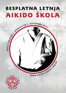 Besplatna letnja aikido škola