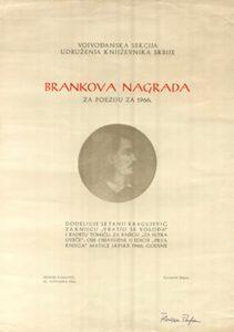 Konkurs za Brankovu nagradu