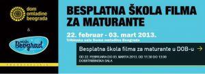 Besplatna škola filma za maturante u DOB-u