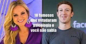 10 famosos que estudaram psicologia e você não sabia