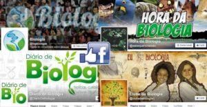 6 páginas do facebook para estudantes de biologia ou biólogos